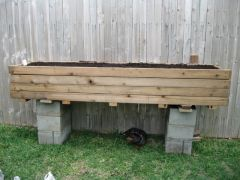 2x8 SIP Wood Planter 1