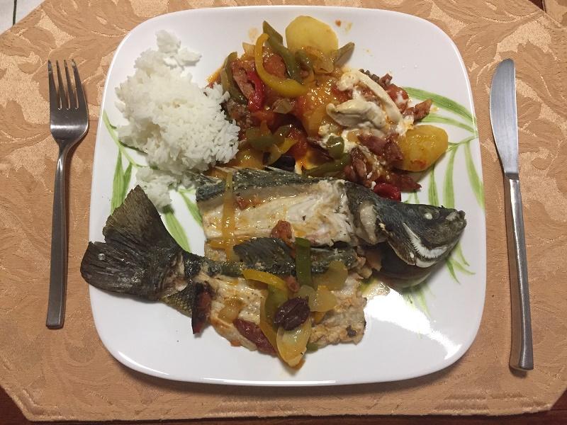 ... my wifes dinner served.jpg